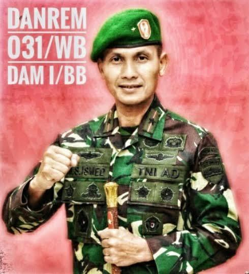 Danrem 031/WB Ajak Seluruh Elemen Masyarakat Bekerja Sama Atasi Covid-19 di Riau