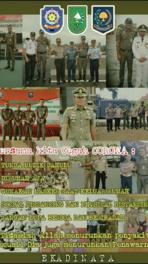 Selama 1 Bulan Satpol PP Provinsi Riau Patroli Prokes COVID-19 di Pasar Ramadhan