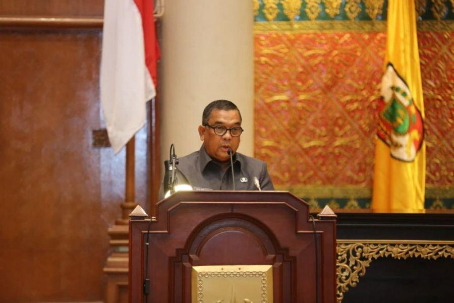 Wagubri Ikuti Rapat Penyampaian Pendapat KDH Terhadap Ranperda Penyelenggaraan Pesantren
