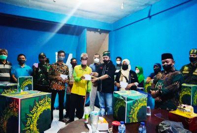 HUT Ke-16 DPP LSM Peduli SDM Provinsi Riau Beri Bantuan Sembako Kepada Masyarakat Kurang Mampu