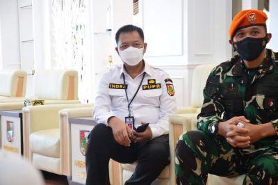 Kadis PUPR Indra Pomi Nst : Normalisasi Anak Sungai Sail di Perumahan Jondul