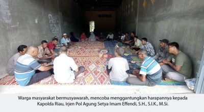 Udin: Pak Kapolda Jangan Tunggu Kampung Kami Berdarah-darah Baru Bertindak!